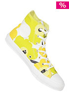 CONVERSE Womens Chuck Taylor All Star Premium Hi Cotton yellow/lime/black