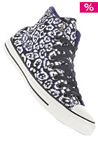 CONVERSE Womens Chuck Taylor All Star Print Hi Canvas blk/nightsh