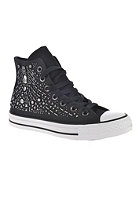 CONVERSE Womens Chuck Taylor All Star Rhinestone Hi black
