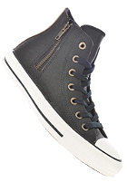 CONVERSE Womens Chuck Taylor All Star Side Zip Hi black