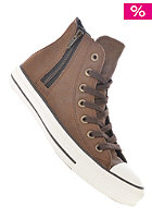 CONVERSE Womens Chuck Taylor All Star Side Zip Hi pinecone
