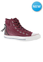 CONVERSE Womens Chuck Taylor All Star Tri Zip Hi oxheart