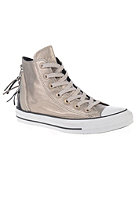 CONVERSE Womens Chuck Taylor All Star Tri Zip Hi portrait gray/lagoon moon