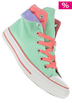 CONVERSE Womens Chuck Taylor All Star Two Fold Hi peppermint