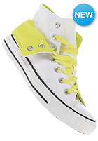 CONVERSE Womens Chuck Taylor All Star Two Fold Hi white/citronella