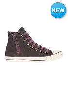 CONVERSE Womens Chuck Taylor Side Zip Hi burnt umbe