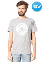 CONVERSE Wood GRN CP Crew S/S T-Shirt v. grey heather
