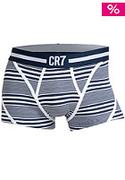 CR7 Main Fashion Trunk white/dark blue stripe