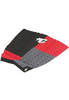 CREATURES OF LEISURE Dusty Payne Traction Surf Pad red/charcoal