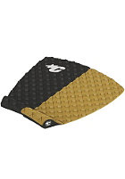 CREATURES OF LEISURE Split 2 Piece Flat Traction Surf Pad tan/black