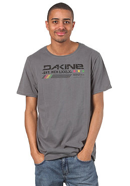 DAKINE Three Star S/S T-Shirt charcoal
