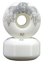 DARKSTAR Decay White/Grey PP Wheels 52mm