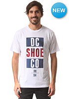 DC Babel S/S T-Shirt star white - solid