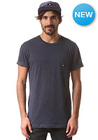 DC Basic Pocket S/S T-Shirt peacoat - heather