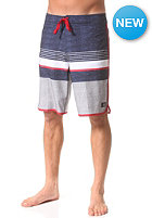 DC Battery Park Boardshort steel gray - plaid_1