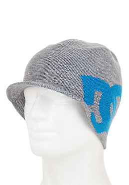 DC Big Star Visor Beanie heather grey