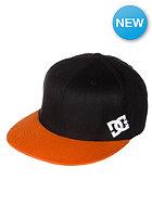 DC Bitchen Cap black/black/orange - combo