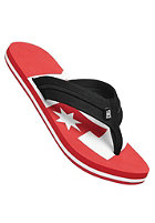DC Central Graffik Sandals ath red/white