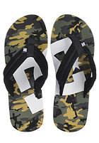 DC Central Graffik Sandals black / camo