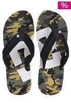 DC Central Graffik Sandals black / camo