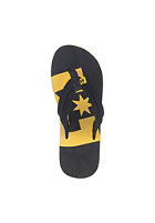 DC Central Sandals black/yellow