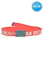 DC Chinook 5 Reversible Belt athletic red