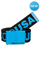 DC Chinook 5 Reversible Belt black/cyan