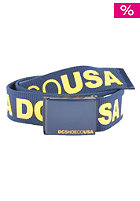 DC Chinook 5 Reversible Belt blue/blue/green - combo