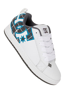DC Court Graffic SE white/turquoise/textil