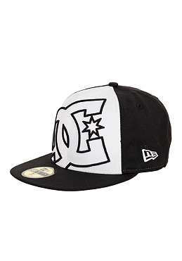 DC Coverage II New Era Fitted Cap black/white