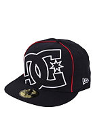 DC Coverage II New Era Fitted Cap navy/white/true