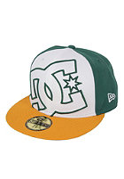 DC Coverage II New Era Fitted Cap white/green/yel
