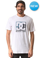 DC Cros/S Cloud S/S T-Shirt star white - solid