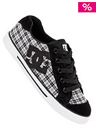 DC DC Womens Chelsea black/black plaid 