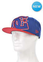 DC Double Up Snapback Cap royal blue