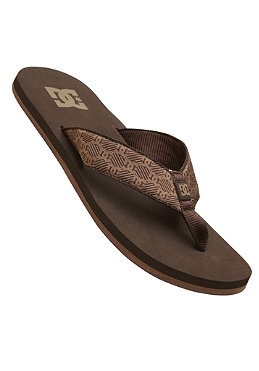 DC Habit Sandal dark chocolate/chocolate