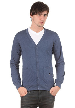 DC Interface Cardigan Sweatshirt heather dark denim