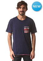 DC Jacqs 2 S/S T-Shirt peacoat - stripe_1