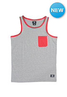 DC Kids Contra Tank Top steel gray - heather