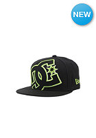 DC Kids Double Up Snapback Cap black/green/green - combo