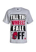 DC Kids Fall Off S/S T-Shirt heather grey