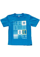 DC Kids Hollywood Square AS BY S/S T-Shirt dc bright blue