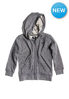 DC Kids Rebel Hooded Zip dark heath grey