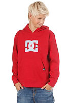 DC KIDS/ Star Hooded Sweat deep red