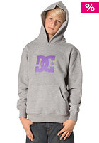 DC KIDS/ Star Hooded Sweat heather grey