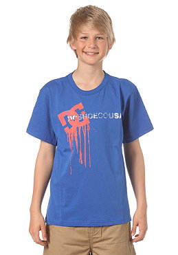 DC KIDS/ Wet Paint Standard S/S T-Shirt olympia blue