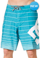 DC Lanai 19 Boardshort blue teal strip