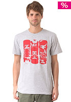 DC Learn Dream S/S T-Shirt heather grey
