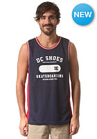 DC Letter Word Tank Top peacoat - solid