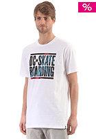 DC Nu Slip S/S T-Shirt white
